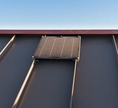 solar panel gazebo