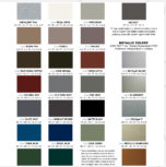 gazebo roof colors