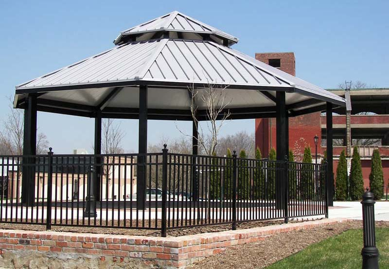 Sophisticated picnic shelter house plans pictures plan for Gazebo cost to build